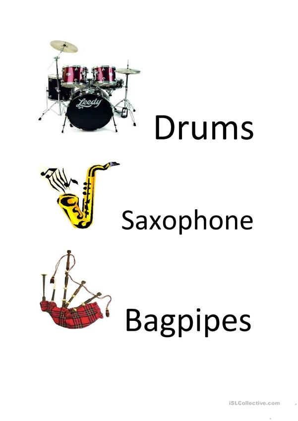 What instrument can you play?