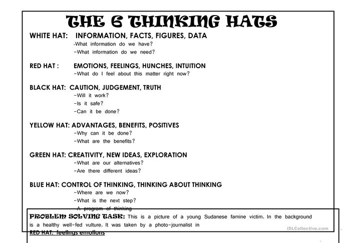 lesson plans for critical thinking elementary