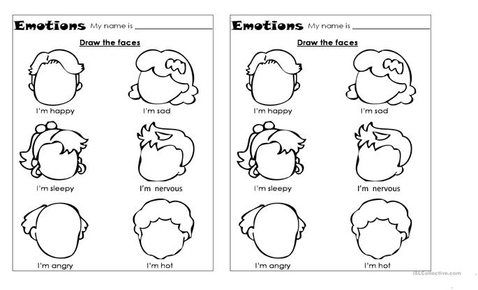 EMOTIONS worksheet - Free ESL printable worksheets made by teachers