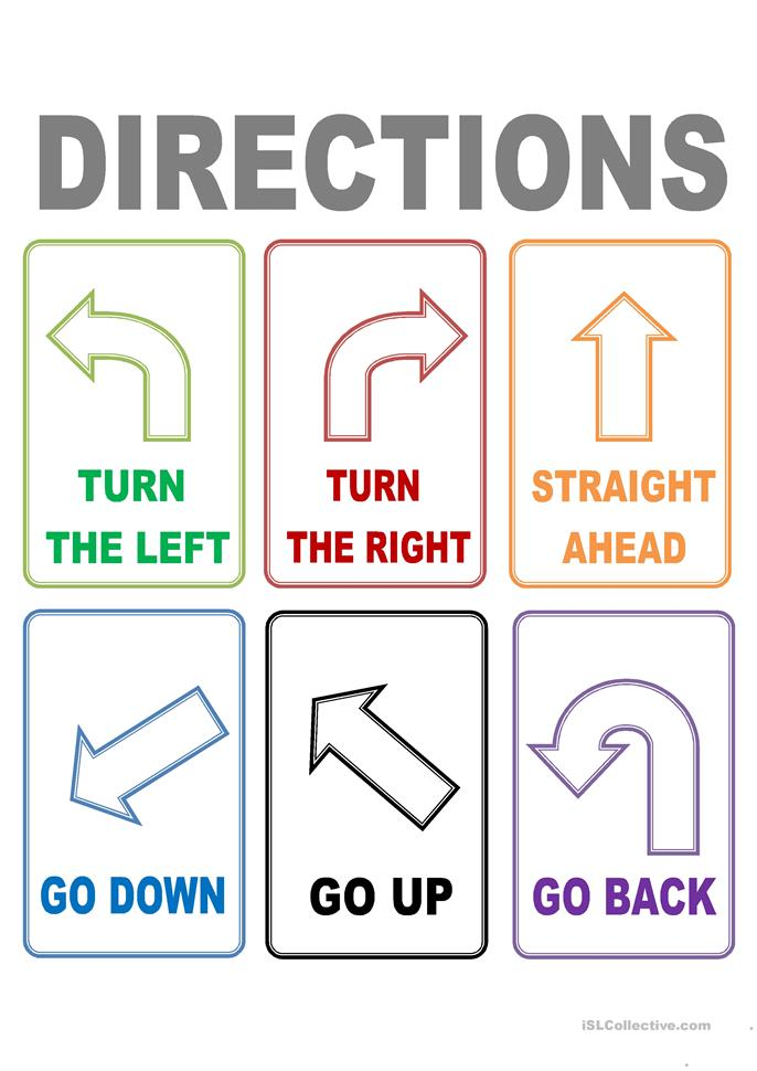 FLASH CARDS DIRECTIONS worksheet - Free ESL printable worksheets made ...