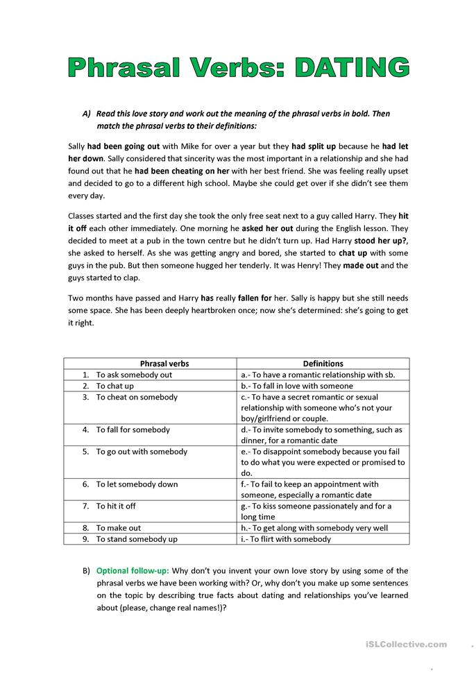 speed dating activity esl This activity is designed to get students to revise and recall topic 1-3 in anatomy and physiology speed dating evaluation sheet report a problem.