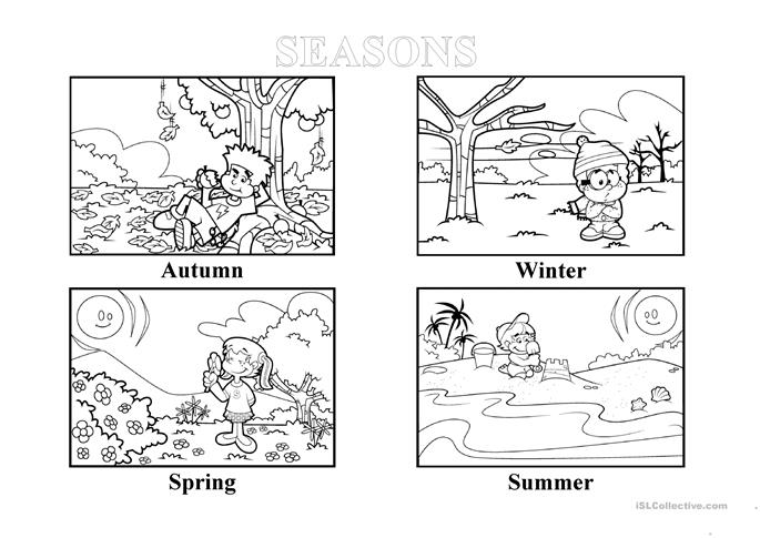 seasons worksheet kindergarten seasons of the year worksheets have fun teachingfour coloring. Black Bedroom Furniture Sets. Home Design Ideas