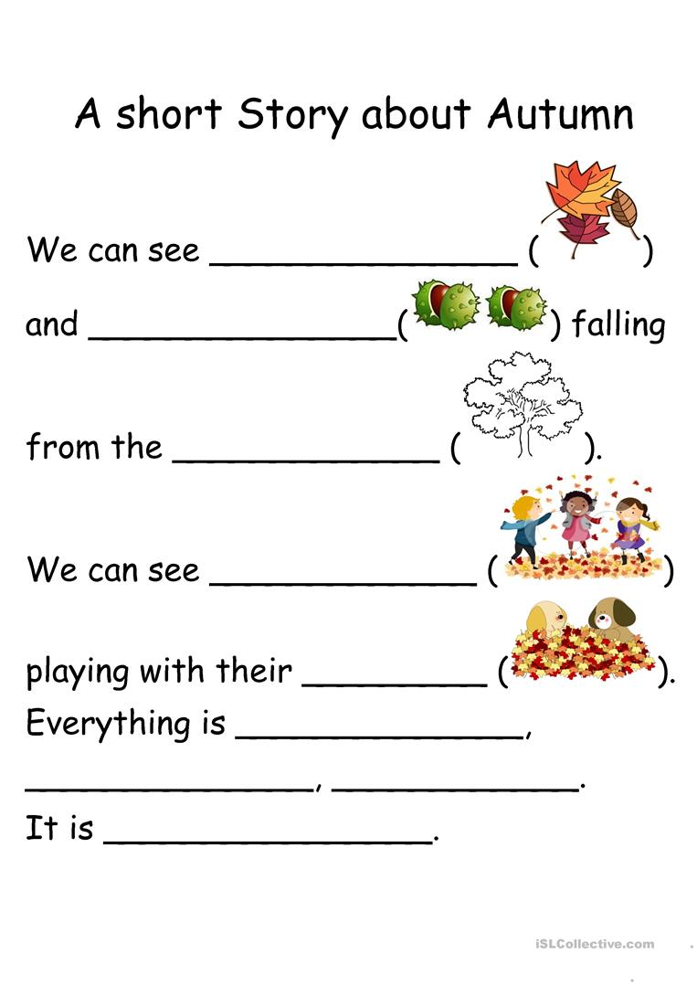 Worksheets Short Stories Worksheets 58 free esl short story worksheets a about autumn worksheets