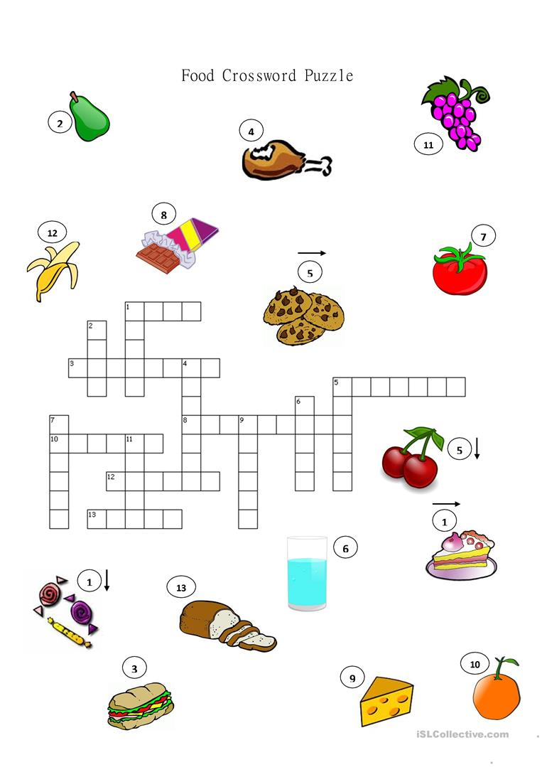 Free Food Chain Puzzle