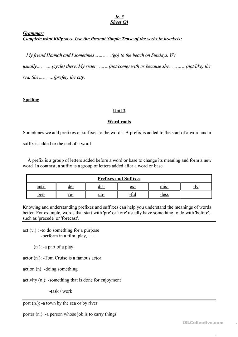 grammar and spelling worksheet free esl printable worksheets made by teachers. Black Bedroom Furniture Sets. Home Design Ideas