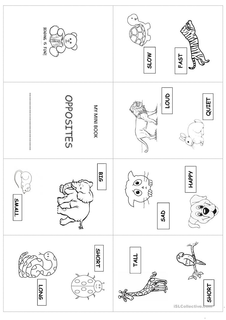 It is a photo of Tactueux Free Printable Minibooks