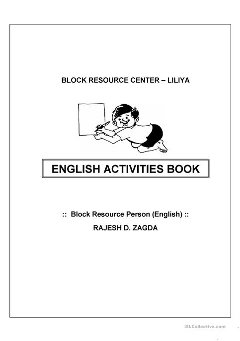 ENGLISH ACTIVITIES worksheet - Free ESL printable worksheets made by ...