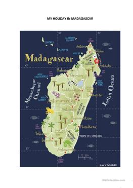 11 free esl madagascar worksheets my holiday in madagascar gumiabroncs Gallery