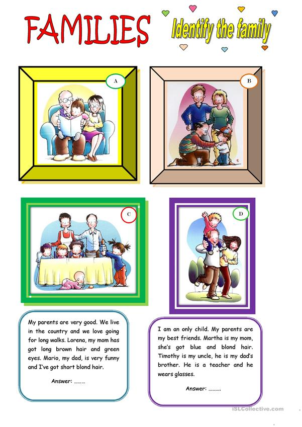 FAMILIES (2 pages)