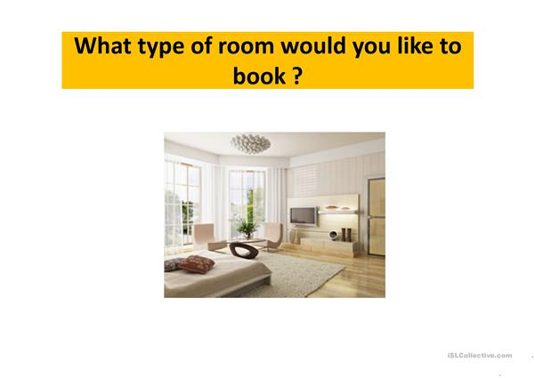 How to book a room in a hotel