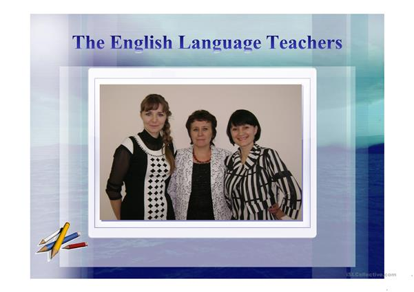 Methodical Association of the English Language Teachers Petropavlovsk School №5