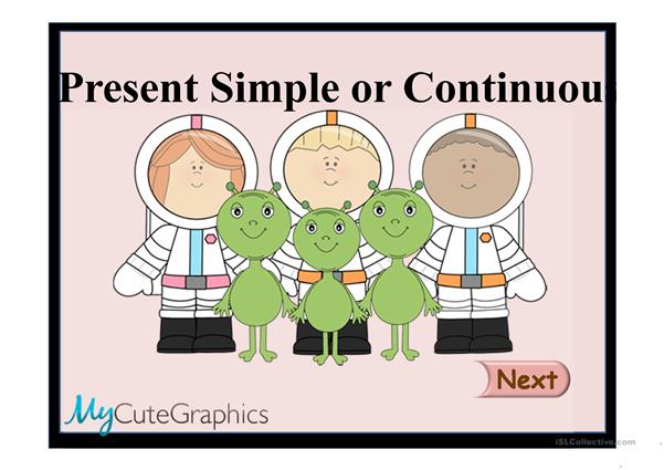 PRESENT SIMPLE & CONTINUOUS 2