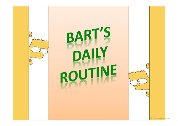 Present Simple Daily Routine