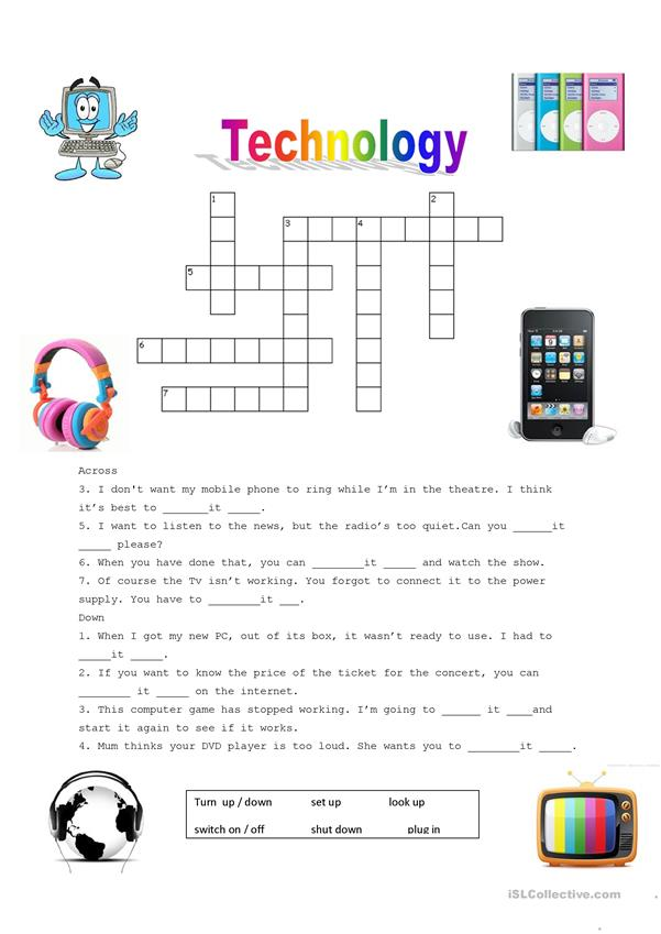 Technology puzzle