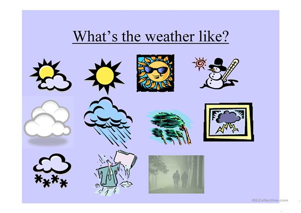 What's the weather like today