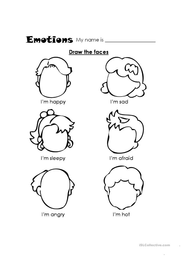 Worksheet Feelings Worksheets For Kids feelings worksheet free esl printable worksheets made by teachers
