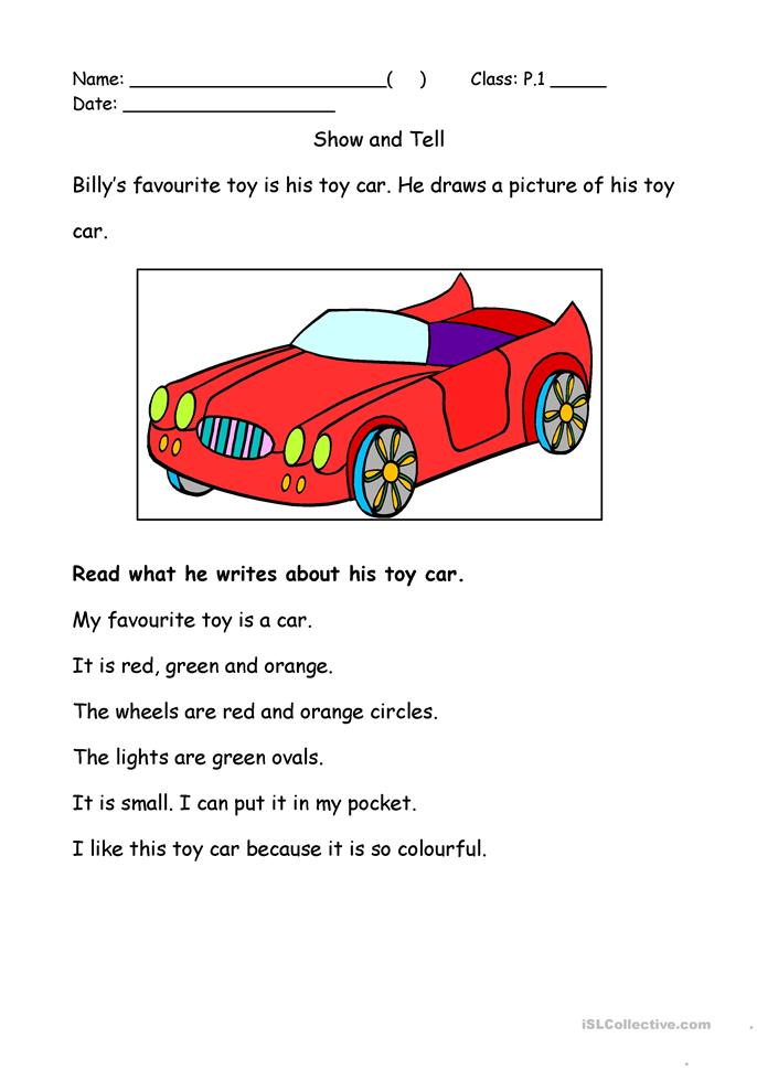 My Favourite Toy worksheet - Free ESL printable worksheets made by ...