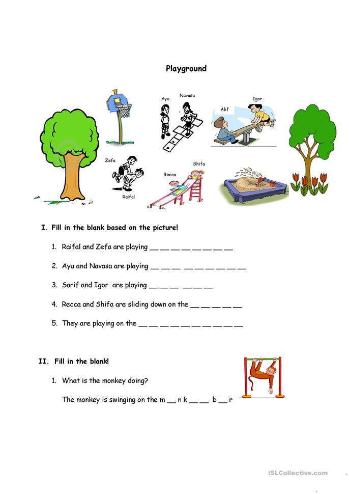 Activities to learn simple present