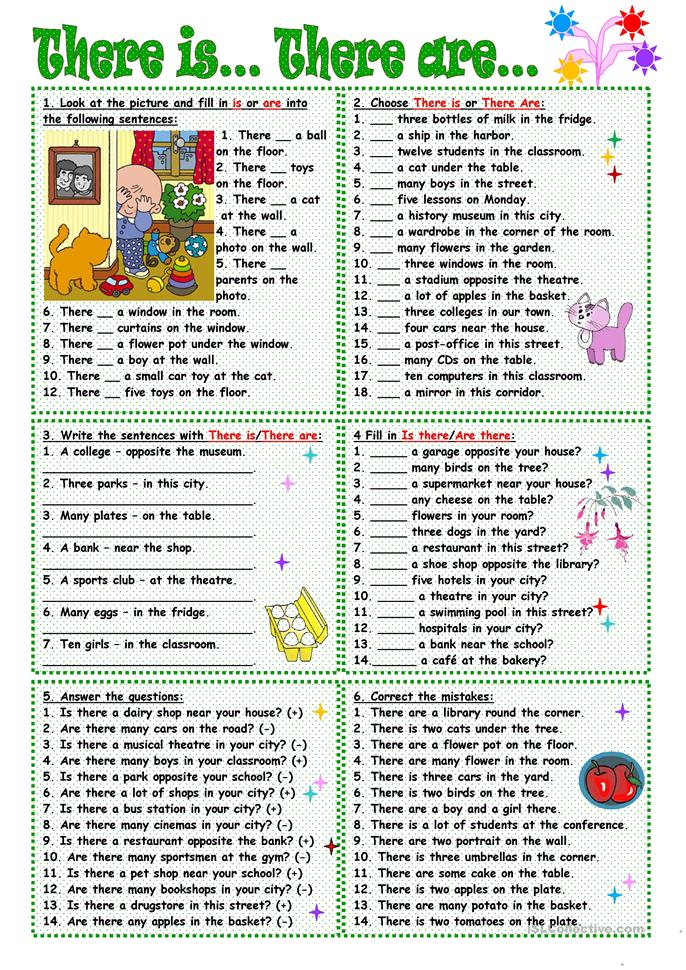 There is there are worksheet free esl printable for Bedroom quiz pinterest