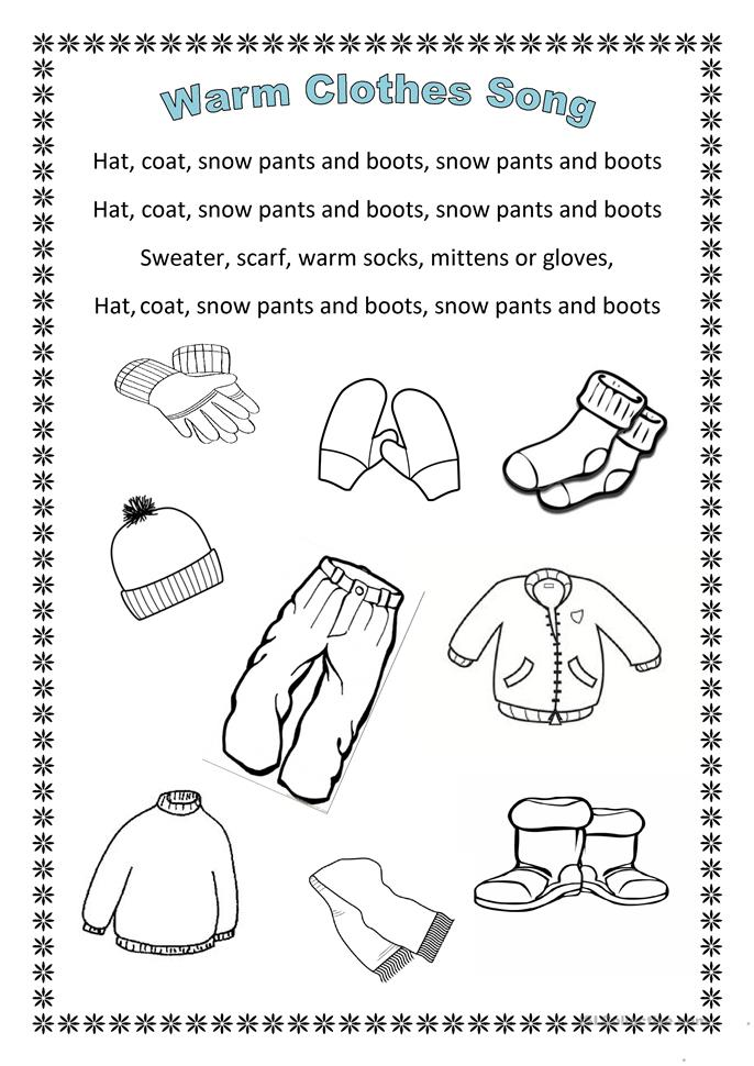 All Worksheets Winter Worksheets Free Printable Preeschool and – Preschool Winter Worksheets