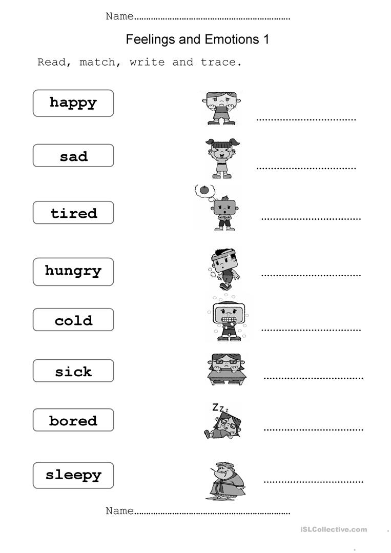 Worksheets Thoughts And Feelings Worksheets 690 free esl feelings emotions worksheets and emotions