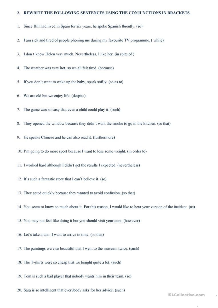 worksheet Worksheets On Connectors In English Grammar linkers and connectors worksheet free esl printable worksheets full screen