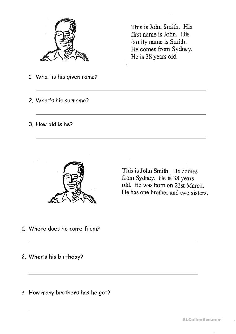Writing about personal information worksheet free esl printable writing about personal information full screen ibookread ePUb