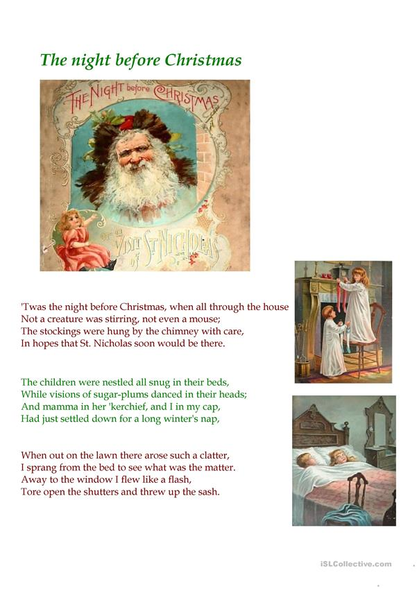 A Visit From St. Nicholas