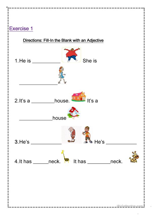 adjective and Modal verb