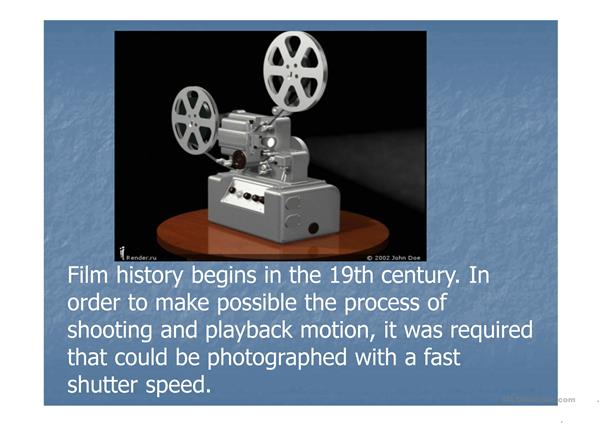 History of Cinema