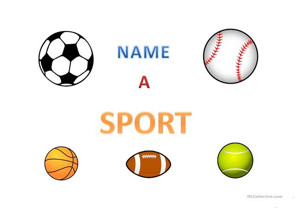 Name a Sport