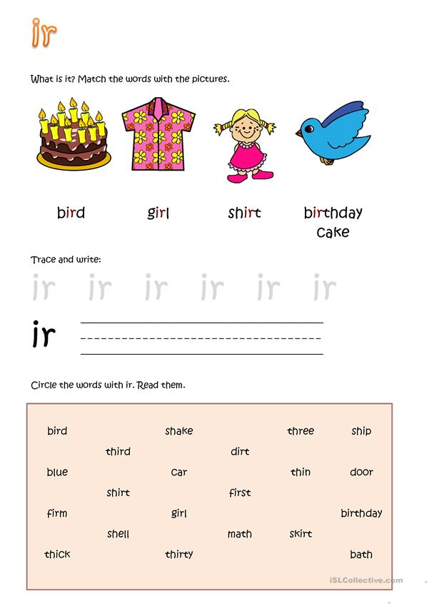 R-controlled vowel i