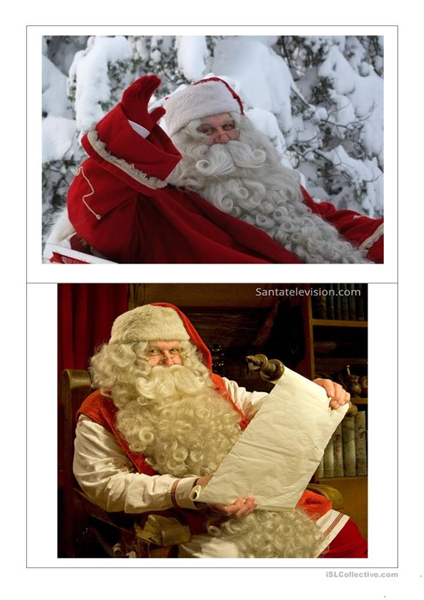Santa Claus is Coming to Town Flashcards