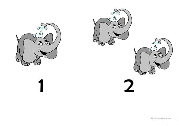 Ten Little Elephants