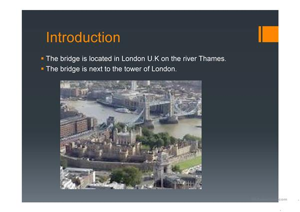 Tower Bridge PPT