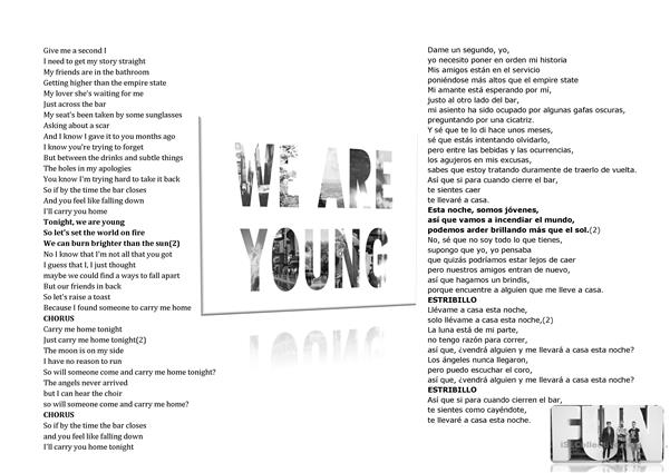 We are young (Fun)