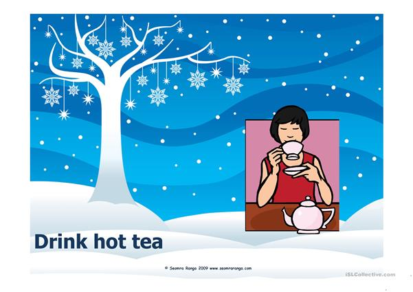Winter Vocabulary PPT