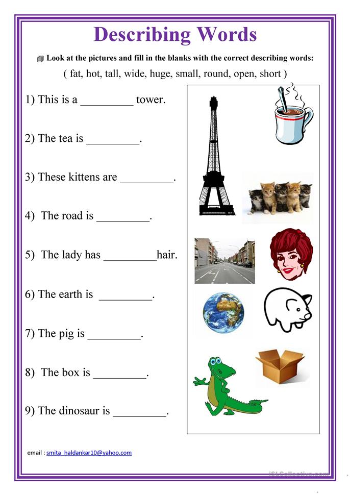 ... words worksheet - Free ESL printable worksheets made by teachers