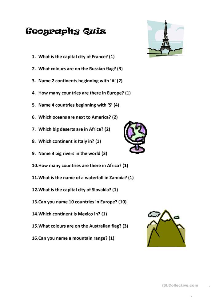 Printables Geography Worksheets High School 38 free esl geography worksheets quiz