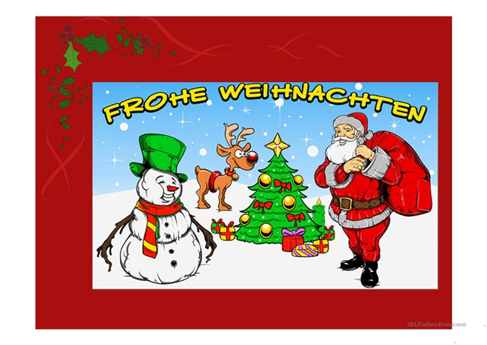 Ppt to be going to for ru speakers worksheet free esl - Weihnachten ppt ...
