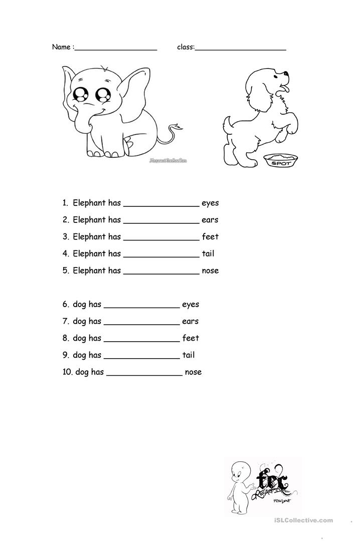 13 FREE ESL big and small worksheets – Big and Small Worksheets
