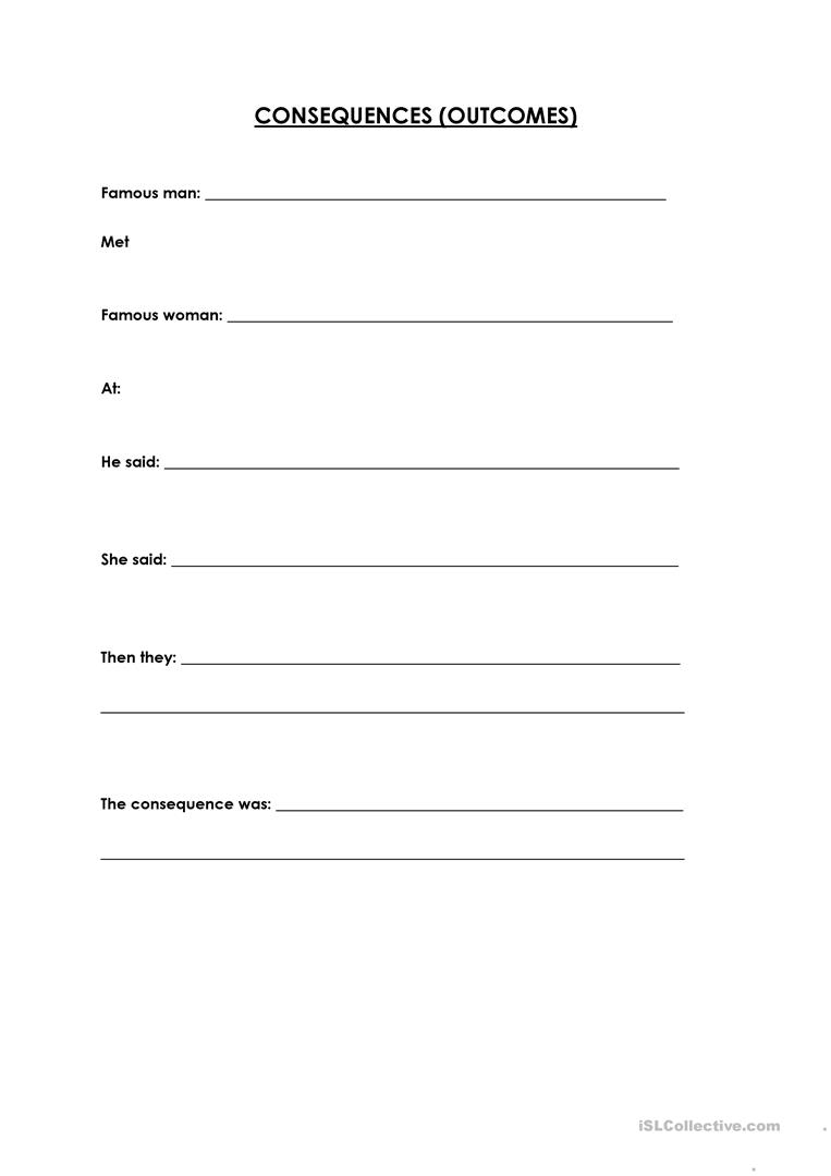 Worksheets Sequence Of Events Worksheets 15 free esl sequencing worksheets consequences outcomes