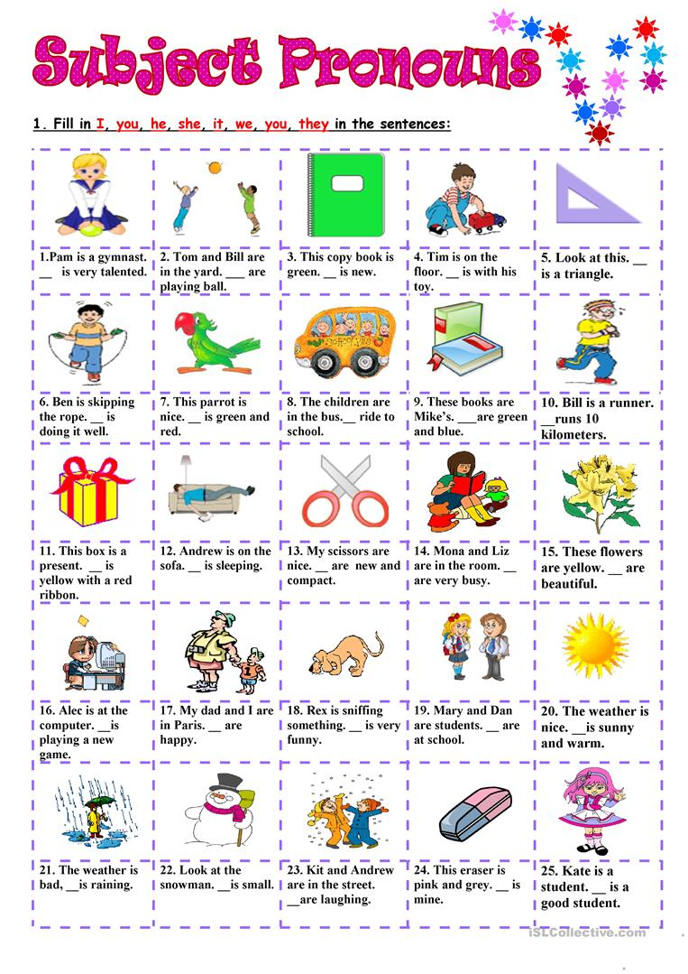 subject pronouns worksheet free esl printable worksheets made by teachers. Black Bedroom Furniture Sets. Home Design Ideas