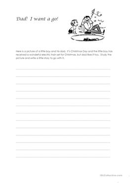 1 free esl finish the story worksheets. Black Bedroom Furniture Sets. Home Design Ideas