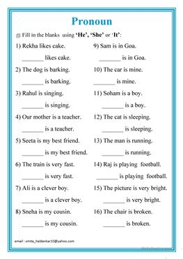 Fill-in-the-Blank Worksheets   Sentences, Worksheets and Reading ...
