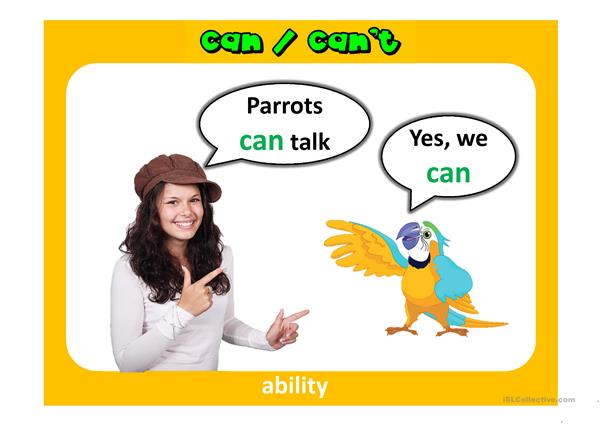 Can/can't PPT - English ESL Powerpoints for distance learning and ...