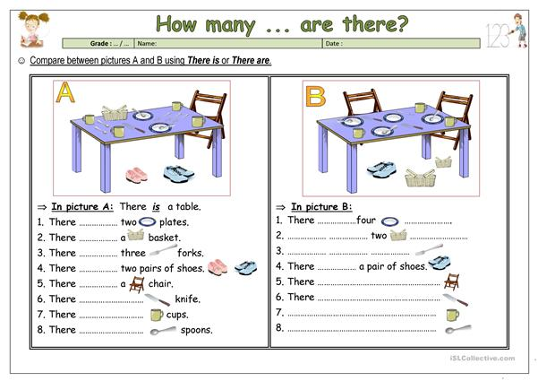 How many objects are there?