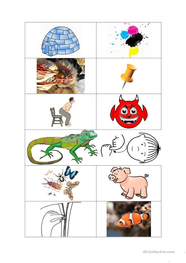 Jolly Phonics method letter I