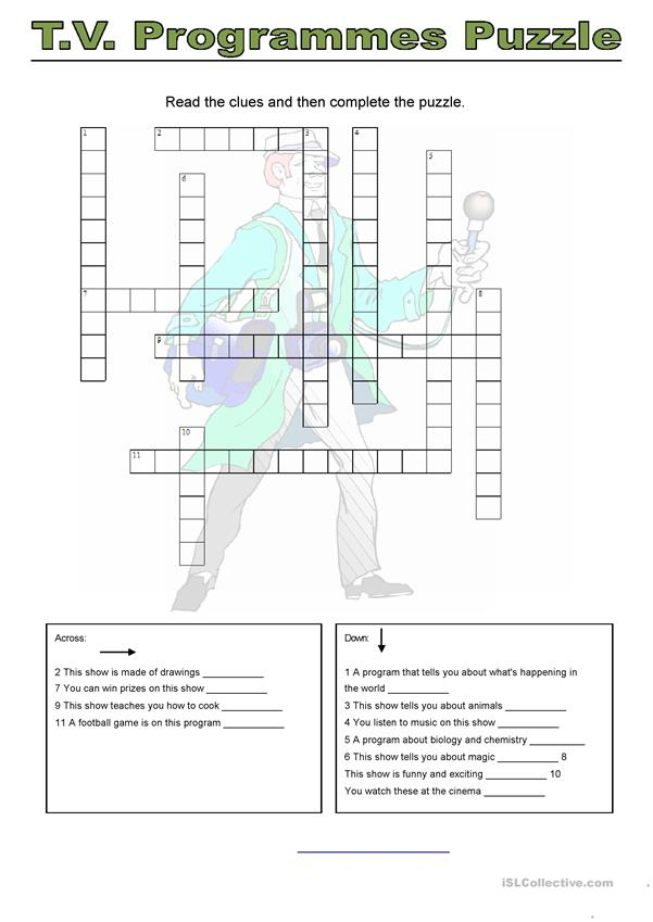 movie crossword