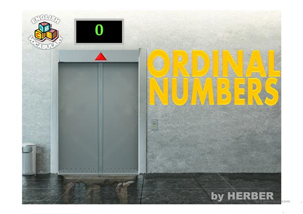 ORDINAL NUMBERS PPT